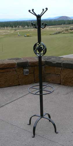 Coat Rack Umbrella Stand with Logo
