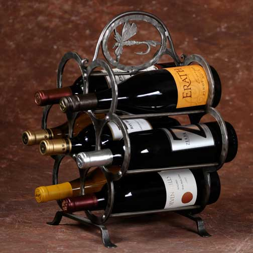 Wine Rack with Logo
